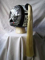 NEW!! TAILS 4 HELMETS PONYTAIL BLONDE FREE SHIPPING !!!!!!!!!