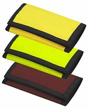 Bagbase ripper velcro wallet 3 colours stock clearance sale yellow brown green