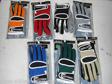 CUTTERS 017Q QUARTERBACK GLOVES - VARIOUS COLORS AND SIZES