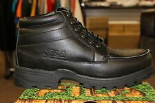FILA Outdoor Men's Tripterra Hiking Boots Black Black Brand New in Box