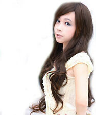 2014 Trend Lady Women Long Curly Wave Hair Cosplay XMAS Party Fancy Dress Wig