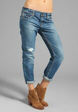 NEW Level 99 Jeans Relaxed Lily Straight Castaic Vintage Ripped $160  Size 24 26