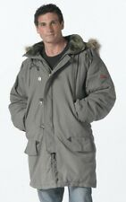 9467 Rothco Olive Drab Vintage N-3B Cold Weather Parka With Hood