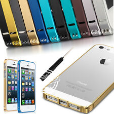 ALUMINUM METAL ULTRA THIN SLIM FRAME BUMPER CASE COVER FOR IPHONE 4G 4S 5G 5S 5C