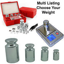 CALIBRATION WEIGHT FOR DIGITAL SCALES Choose 5g 50g 100g 200g 300g 500g 5kg
