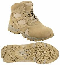 "Desert Tan 6"" Military Lightweight Deployment Boot - Tactical Footwear / 5-13"