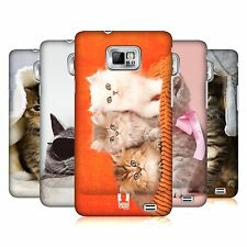 HEAD CASE CATS PROTECTIVE SNAP-ON BACK CASE COVER FOR SAMSUNG GALAXY S2 II I9100