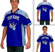 Custom bowling shirts, jersey bowling shirts includes text and graphics