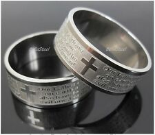 Stainless Steel Lord's Prayer/Our Father - 15 sizes available- Ships from Canada