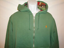 $125 NWT Polo Ralph Lauren Indian Full-zip Fleece Hoodie Sz S M L XL
