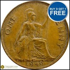 1937 TO 1951 GEORGE VI PENNY / PENNIES CHOICE OF YEAR / DATE