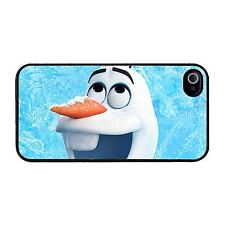 New Cute Disney Frozen Olaf Snowman iPhone 4/4s or iPhone 5 Case Cover