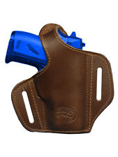NEW Barsony Brown Leather Pancake Gun Holster Smith&Wesson Mini-Pocket 22 25 380