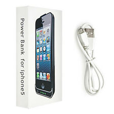 iphone 5 Battery Case 2200mAh PowerBank with LED External Backup Battery Charger