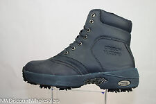 Oregon Mudders Womens Golf Boot Blue with Spikes and Rubber Vamp CW6000