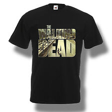 Daryl Dixon The Walking Dead T-Shirt Zombie TV Series Men Shirt Black S-2XL
