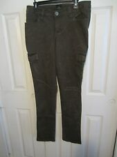 Z. CAVARICCI OLIVE MILITARY CARGO SKINNY LEG  DIFFERENT SIZES TO CHOOSE FROM