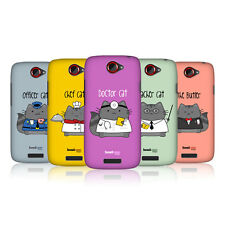 HEAD CASE DESIGNS WILBUR THE PROFESSIONAL CASE COVER FOR HTC ONE S