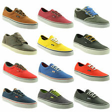 VANS~MENS TRAINERS~SHOES~CHOICE OF 12 SUPER COLOURS/LATEST STYLES~P1V4~SAVE ££'S