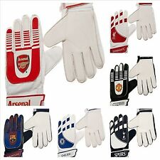 LICENSED GOALY FOOTBALL CLUB GOALKEEPER KIT PADDED GOALIE GOAL GLOVES SPORTS