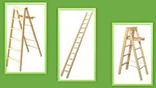 dolls house miniature selection of D.I.Y. ladders 3 to choose from. (NOT REAL)