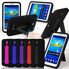 Hybrid Rugged Stand Cover Hard Case for Samsung Galaxy Tab3/4 7.0 P3200 P3210