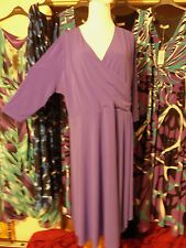 Woman's high end boutique dresses beautiful blue purple  formal- casual
