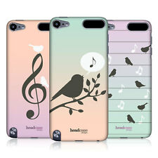 HEAD CASE BIRDS OF MUSIC DESIGN BACK CASE COVER FOR APPLE iPOD TOUCH 5G 5TH GEN