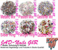 Nagel-Piercings ° Nagelpiercing ° AUSWAHL Farbe + Menge Nailpiercing Nailart