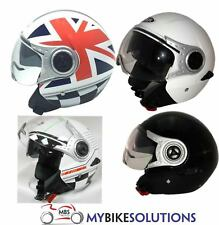 VIPER RS-V18 OPEN FACE MOPED MOTORCYCLE MOTORBIKE JET SCOOTER CITY HELMET