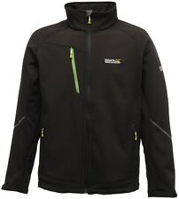 Regatta Davidson Mens Softshell Jacket Windproof Water Repellent Fleece