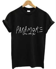 PARAMORE STILL INTO YOU T SHIRT AMERICAN ROCK BAND HAYLEY WILLIAMS ALL COLOURS