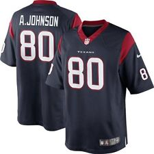 Nike NFL Youth Houston Texans ANDRE JOHNSON # 80 Game Jersey, Navy