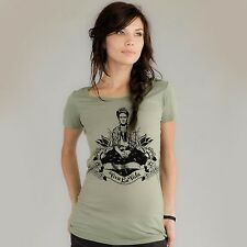 Frida Kahlo Organic Scoop Neck Woman's T-shirt Tartx