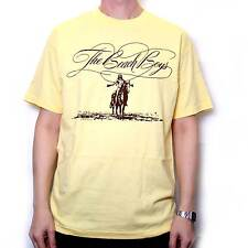BEACH BOYS T SHIRT - 70'S ERA LOGO BROTHER RECORDS 10 YEARS OF HARMONY OFFICIAL