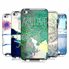 HEAD CASE DESIGNS POSITIVE VIBES BACK CASE FOR APPLE iPOD TOUCH 4G 4TH GEN