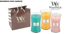 WOODWICK CANDLES 22oz LARGE JAR - VARIOUS FRAGRANCES TO CHOOSE FROM