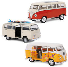Boxed Boys Girls Scale Toy Model VW Camper Van Bus Toy - Split Screen Hippy Surf