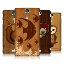 HEAD CASE DESIGNS WOOD CRAFT HARD BACK CASE COVER FOR SONY XPERIA TX LT29i