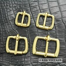Solid Brass Buckle Roller Buckle HIgh-quality Leathercraft Hardware