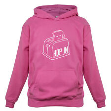Toaster Hop In - Kids / Childrens Hoodie - 7 Colours - Funny - Present