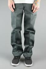Dickies WP873 Slim Fit Straight Cut Work Pant Charcoal Grey Trouser Chino