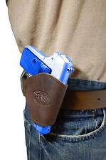 NEW Barsony Brown Leather OWB Yaqui Holster Kel-Tec, Ruger, Kahr Mini 22 25 380