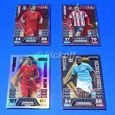 Match Attax Extra 13-14: Suarez 100 Club.. Hat-Trick Heroes.. Toure GOLD Limited