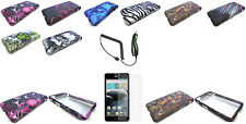 Any Design Skin Snap-on Cover Hard Case For LG Optimus F6 D500/MS500 Phone