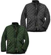 Mens Smart Fitting Diamond Quilted Padded Water Repellent Fieldfox Husky Jacket