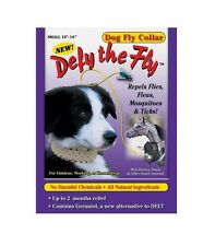 Defy the Fly Dog Fly Dog Collar - S - M - L - Natural Way to Repel Flies Fleas