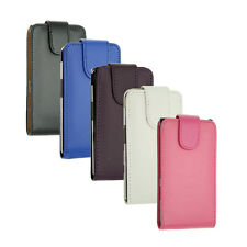 New Leather Flip Case Pouch For Sony Xperia Models Magnetic Brand New Cover UK