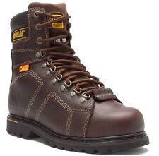 CAT Caterpillar Men Silverton Guard Steel Toe Brown Boot P89967
