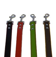 fusion dog lead hand crafted high quality luxury soft leather